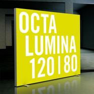"""LED világítófal """"Octalumina 120"""" szabadon álló"""