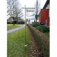 """Összedugható acél bannerkeret rendszer """"Makler"""""""