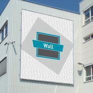 """Összedugható bannerkeret rendszer alumínium """"Wall"""""""