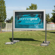 """""""Mobil LED"""" bannergear® állvány, kétoldalas"""