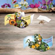"""""""Mentsük meg a méheket"""" virágmagos széthajtható kártyácska"""