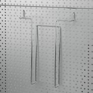 Prospektustartó perforált falakba, 4 mm
