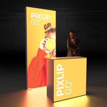 """Pixlip GO  LED Kiállítási stand  """"Stand HL10"""""""