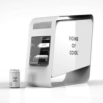 "POS Cooler ""Home of Cool"", Hűtővitrin"
