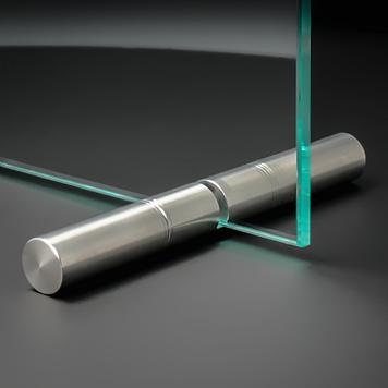 """""""Roll"""" üveglaptartó acélrúd"""