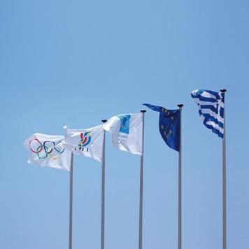 Zászló digitális nyomattal
