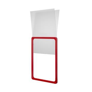 U alakú tok kemény PVC-ből plakátkerethez