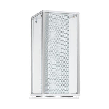 """Forgó vitrin """"Twist"""" alsó szekrénnyel vagy alsó szekrény nélkül"""