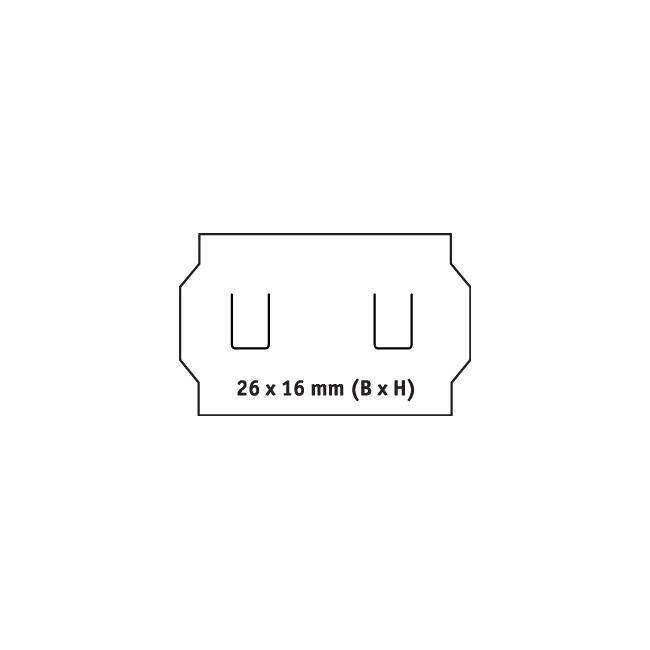 Kétsoros címke árazógéphez