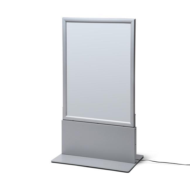 LED plakáttartó