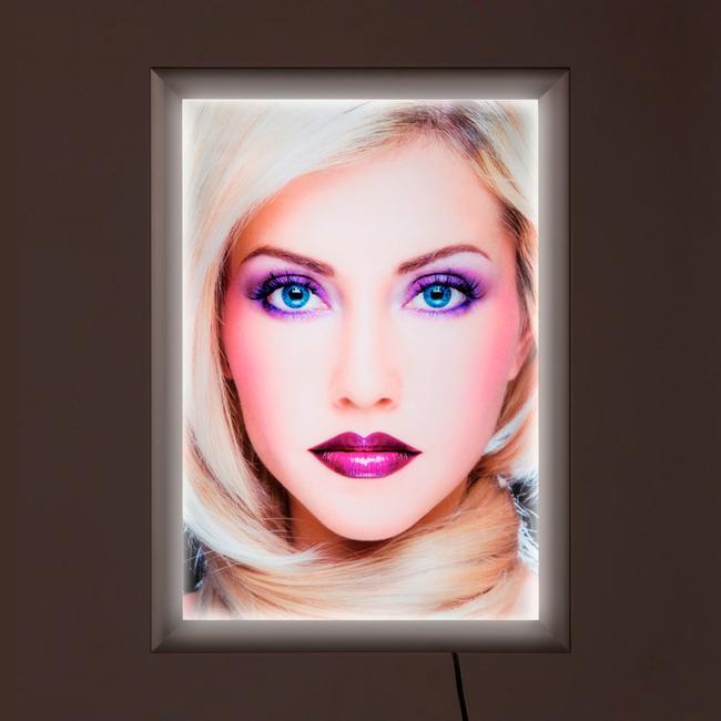 """LED világító plakátkeret """"Simple"""", egyoldalas"""