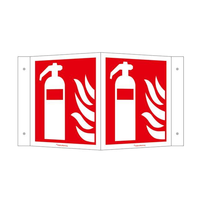 Tűzoltókészülék saroktábla