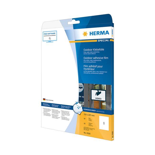 Kültéri etikettek, Herma 9531