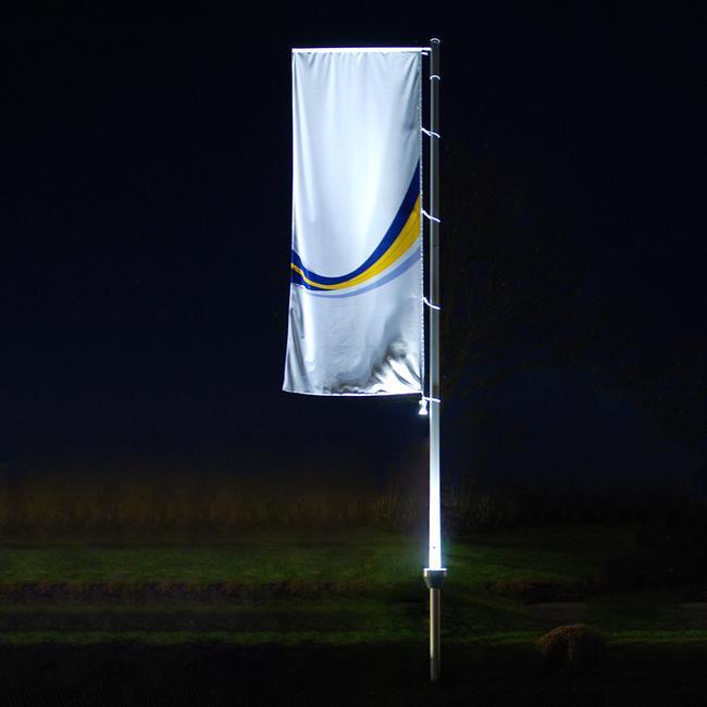 Zászlórúd világítás