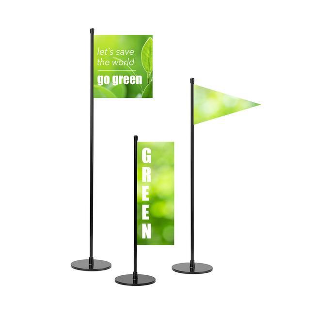 SIGN zászlórúd 300 – 500 mm
