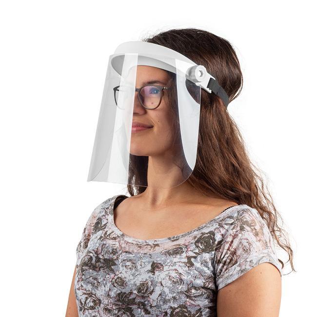 Felhajtható arcvédő