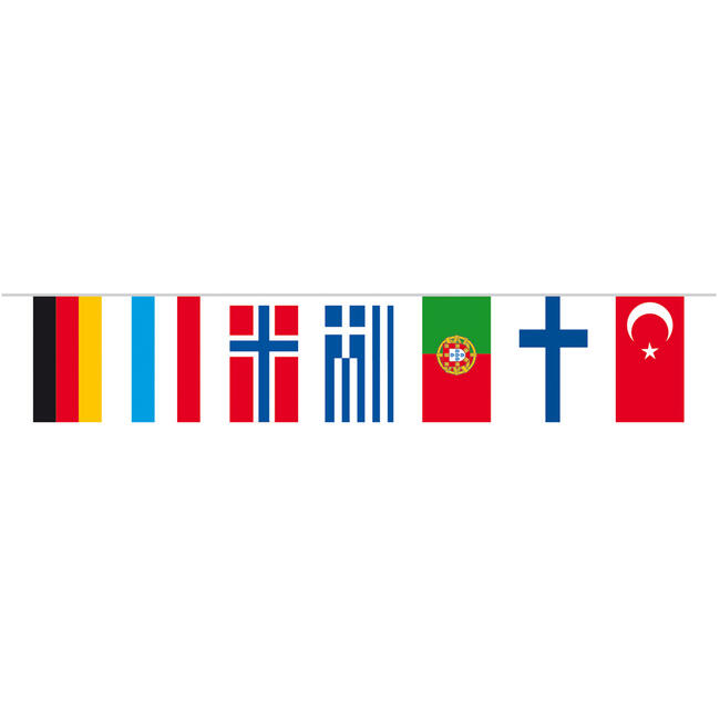 """Zászlófüzér """"országok"""""""