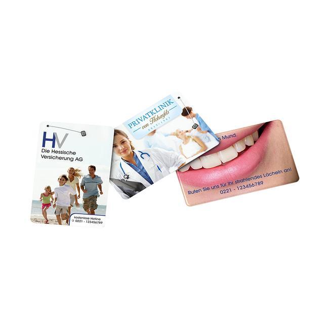dentOcard® fogselyem - bankkártya formátumban
