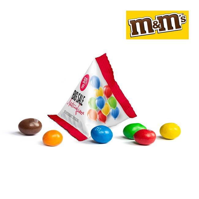 M&M csokidrazsé, egyedi kiszerelés