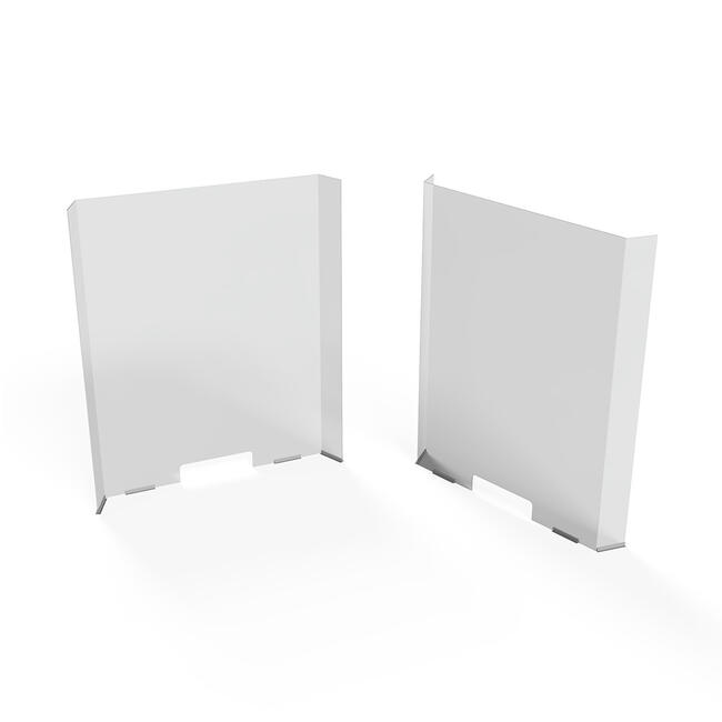 Pénztárvédő plexi fal