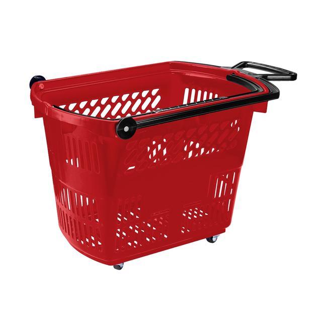 """Húzható görgős bevásárlókosár """"Small"""", 33 literes"""