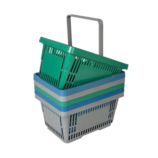 bevásárlókosarak újrahasznosított műanyagból