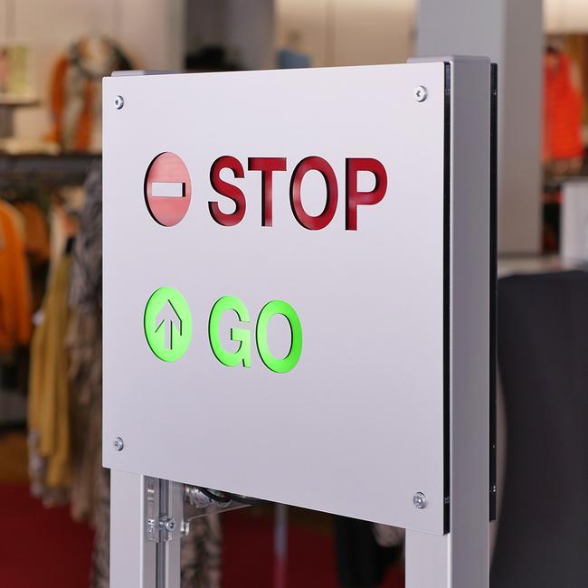 """""""Counter"""" belépésjelző rendszer  lámpával"""