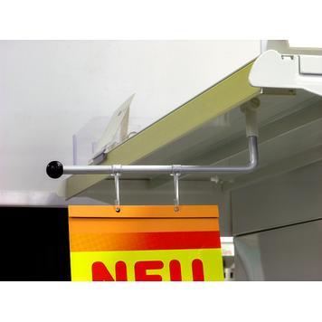 Mágneses bannertartó