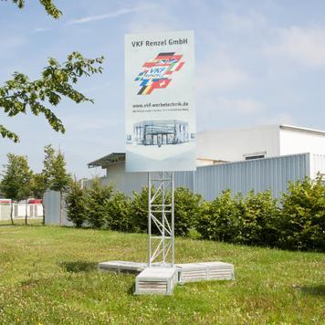 """Építési tábla rendszer Traverstar Outdoor Fascia III """"Mobil"""""""