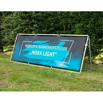 """Moba Light"" mobil ""A"" banner állvány"