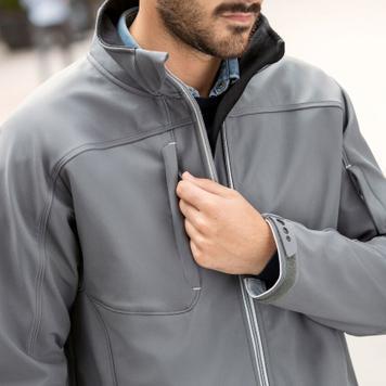 Bionic férfi softshell kabát, Russell 410M