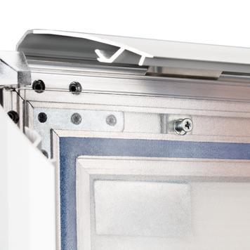 """WindSign """"Seal"""" megállítótábla, vízálló, 44mm-es profil, ezüst/szürke"""