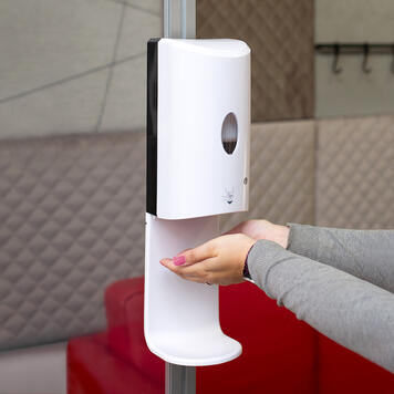 "Sensor-Wall - higiéniai adagoló""Stretchframe"" feszítőkeret- & 30-as Quattro profilhoz"