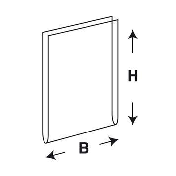 U alakú akril tok DIN A3 + 12 / DIN A4 + 12