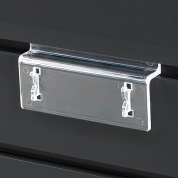 Függesztő nútos panelrendszerhez