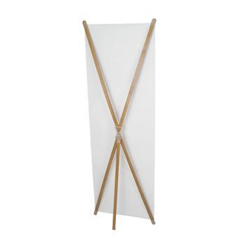 """Digitálisan nyomott banner X-Bannerdisplay """"Wood""""-hoz"""