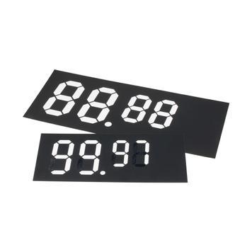 Digitális számtáblák műanyagból