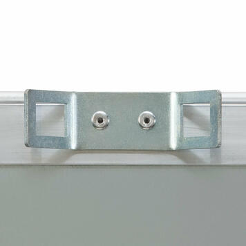 Pattintós keret alumíniumból, oszloprögzítéssel