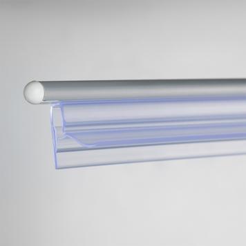 mágneses bannertartó csíptetőprofillal