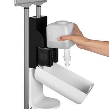 """""""Sensor-Tondo"""" higiéniai állvány"""