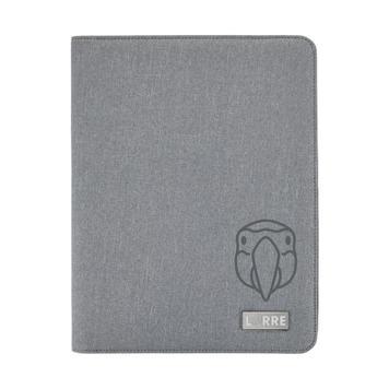 Deluxe Tech Portfolio írómappa cipzárral