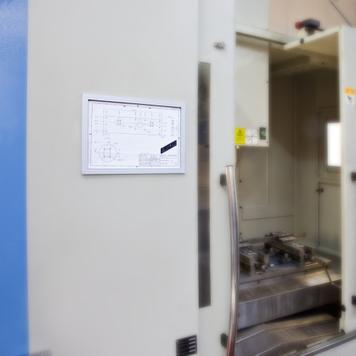 "Műanyag kirakati keretrendszer ""Feko-Eco"", 17 mm-es profil"